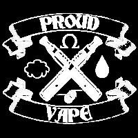 Proud to vape Zigarette elektronisch Elektro