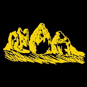 "Die ""Drei Zinnen"" magische Berge in den Dolomiten"