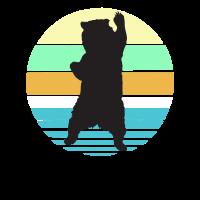Bären T-Shirt Vintage Bear