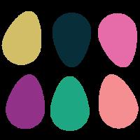 verstümmelte Eier