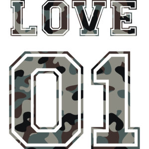 LOVE 01 - Couple - Paar - Liebe Camouflage