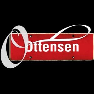 "(Hamburg) -Ottensen Ortsschild mit Tattoo-""O"""