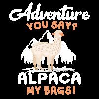 Alpace - Abenteuer - Reise - Shirt