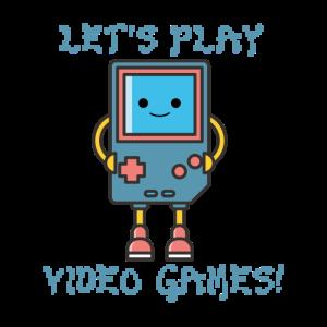Lass uns Videospiele spielen