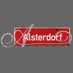 Alsterdorf mit Schnörkel A Hamburg