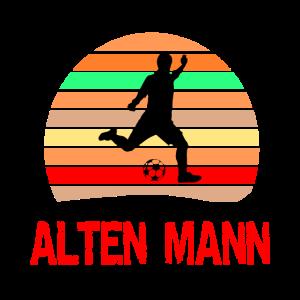 Altherren - Alter Mann Fussball Spruch Geschenk