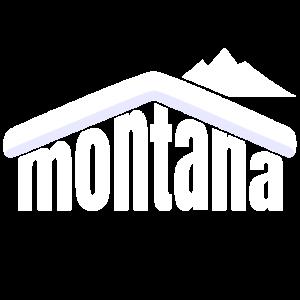Montana Winter Schifahren Souvenir Rocky Mountains