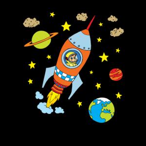 Rakete Raumschiff Astronaut Weltraum