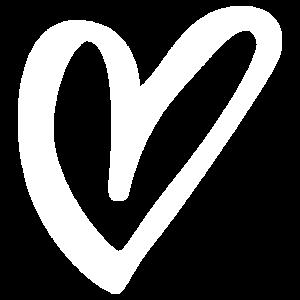 Herz weiss