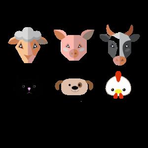 Vegan Shirt · Hundefreund · Katzenfreund Geschenk