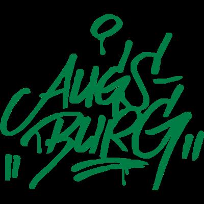 Augsburg Graffiti Ultras Fan Shirt - Augsburg Street Art Design für Party oder Stadion... - street art,graffiti,fans,Ultras,Stadion,Pyro,FC Augsburg,Augsburg