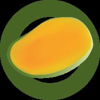 halbe Mango
