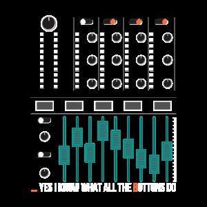 Toningenieur Geschenk Tontechniker Tonstudio Mixer
