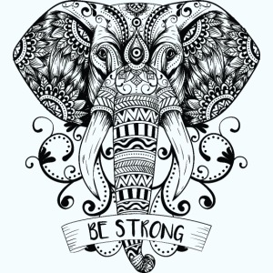Be Strong Elephant