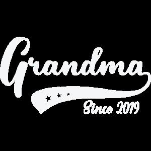 Funny Grandma Shirt Since 2019 Mother Gift Idea
