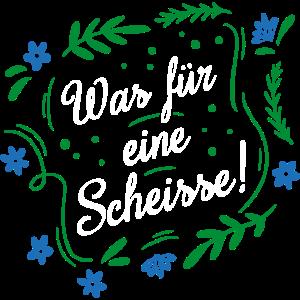 WAS FÜR EINE SCHEISSE! | SCHWARZ