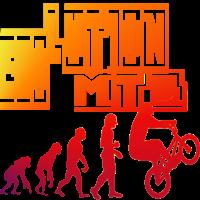 Evolution MTB Trial Bike BMX Fahrer