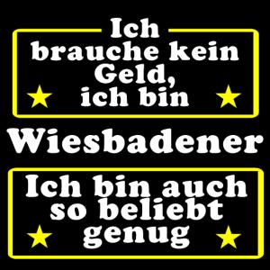Wiesbadener beliebt genug