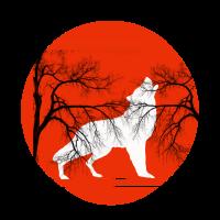 Wolf Wölfe Vollmond Heulen Werwolf