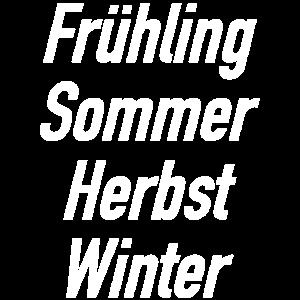 Vier Jahreszeiten I Frühling Sommer Herbst Winter