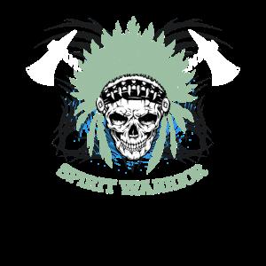 Indianer Totenkopf