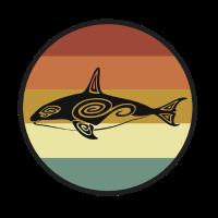 Orca Wal Blauwal Pottwal Buckelwal Ozean Geschenk