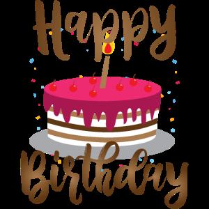 Geburtstagskuchen Herzlichen Glückwunsch