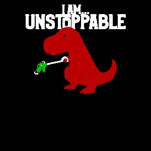 Süß & lustig Ich bin unaufhaltsam TRex Dinosaur Pun