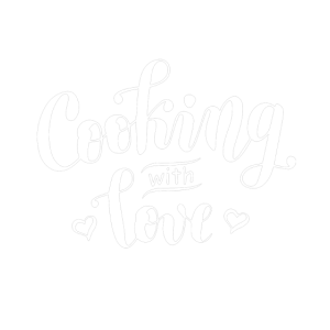Cooking with love white