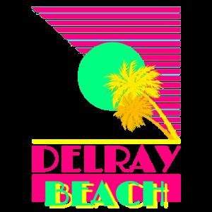 Delray Beach Neon Retro