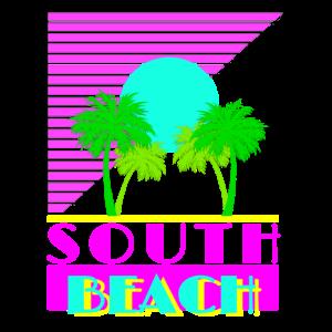 South Beach 80s Retro