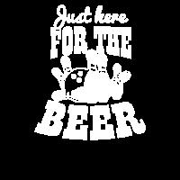 Bier-Bowling gerade hier für das Bier