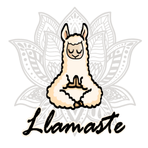 Llamaste Lama Namaste Hindu Geschenk Idee