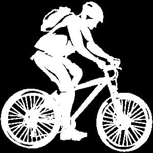 Trekkingrad Fahrradfahrer