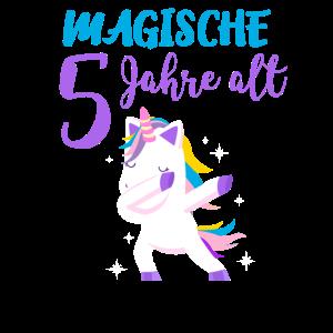 Magische 5 Jahre alt Einhorn Geschenk