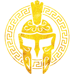 spartaner helm gold