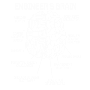 Ingenieur Gehirn Ingenieure Studium Geschenk