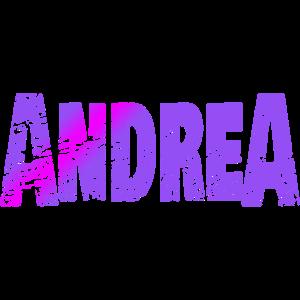Schriftzug Andrea Name