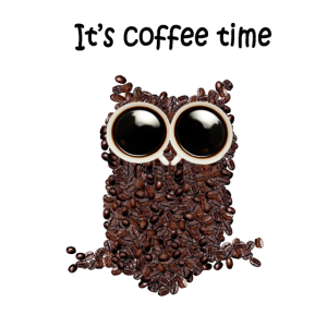 Es ist Kaffeezeit - Little Owl Tee