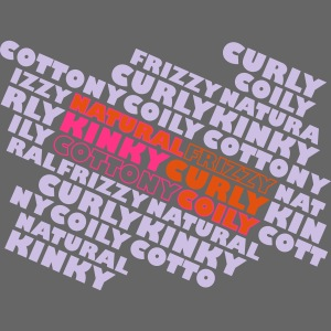 Natural Frizzy Kinky Curly Cottony Coily