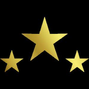 Drei Goldene Sterne