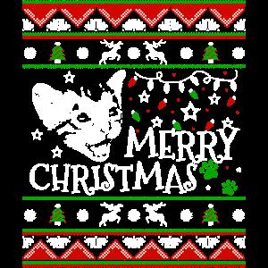 Nettes Kätzchen-Weihnachtskatzen-Weihnachtskätzchen