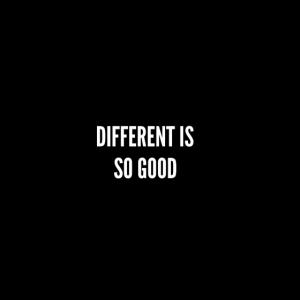 Individualität einzigartig Spruch Wort Geschenk