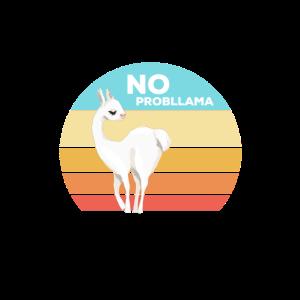 No Probllama Cute Lama