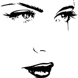 Frau Gesicht