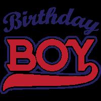 Birthday boy white