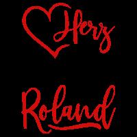 Mein Herz schlägt für Roland rot