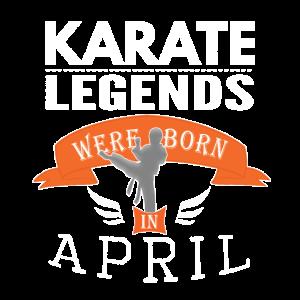 Karate-Legenden werden im April Boys geboren