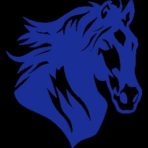 Pferd Silhouette Pferdekopf Kopf 1306