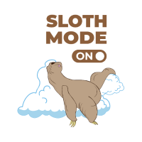 Sloth mode on! Geschenk für Faulenzer T-Shirt
